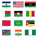 banderas del mundo africa tienda