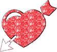 flechas al corazon imagenes para facebook de corazones