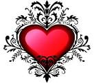 imagen corazon corazon con tribal para facebook sonico myspace