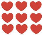 tarjetas y corazones para imprimir en el dia del amor san valentin