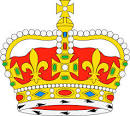 dibujo heraldico corona real del reino del maestrazgo