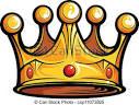 ilustraciones de vectores de realeza o reyes corona caricatura