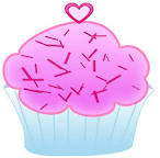 deviantart more like white cupcake clipart by worddraw
