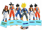 dragon ball z kai son goku trunks vegitto saiyan gogeta ssjd