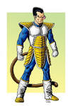 dragonball z vegeta by rubusthebarbarian on deviantart