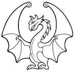 colorear dibujos de dragones dibujos para colorear
