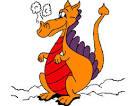 dibujo de dragon pintado por julijuli en dibujos net el dia