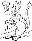 plantillas para colorear de mitologia gt dragones gt dragon
