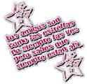 imagen glitter estrella los amigos son como las estrellas para