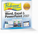 professor teaches word excel