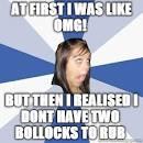 annoying facebook girl memes