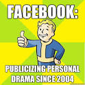 facebook publicizing personal drama since fallout new