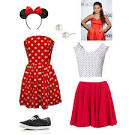 ariana grande inspired minnie mouse halloween costume late