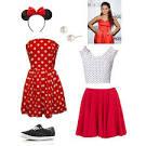 ariana grande inspired minnie mouse halloween costume late