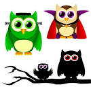 shop sale halloween owls clip art halloween clipart decor owl