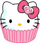 cupcake hello kitty clipart clipart best