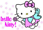 pin hello kitty vector image set clip art online royalty pictures