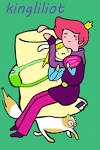 deviantart more like la princesa bonibelle bubblegum finn et moi