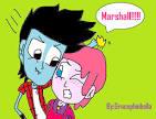 hora de aventura marshall y gumall by gracephinbella on deviantart
