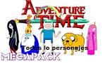 mega pack hora de aventura png by lluzyla on deviantart