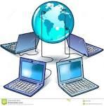 rede informatica global imagens de stock royalty free imagem
