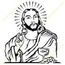 clipart jesus jesus mugs t shirts picture mouse pads amp more