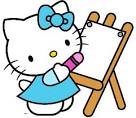 hello kitty clipart cartoon characters images