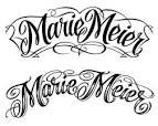 letras manuscritas