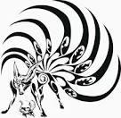 naruto amp kyubi vector clip arts free clipart clipartlogo