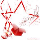 images imagenes felicitacion de navidad en rojo
