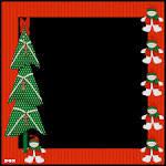 marcos para fotos navidad gratis nocturnar