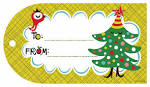 tarjetas navidenas para imprimir nocturnar
