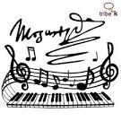 mozart notas musicales tienda tribe k