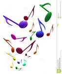 notas musicales imagen de archivo libre de regalias imagen