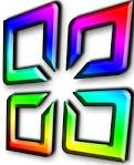 logo office rainbow rocketdock