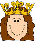cartoon queen crown clip art vector clip art online royalty