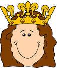 cartoon queen crown clip art vector clip art online royalty