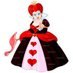 clipart alice heart queen royalty free vector design cliparts