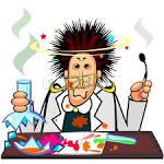 quimica de dibujos animados ilustraciones vectoriales clip art