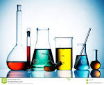 chemical glassware royalty free stock photography image