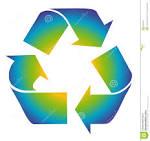 el reciclaje es simbolo de la diversion colorido recicle imagen