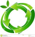 reciclaje del logotipo foto de archivo libre de regalias imagen
