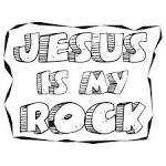 clipart amp design ideas clipart religious jesus is my rock