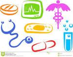iconos de la salud imagen de archivo imagen