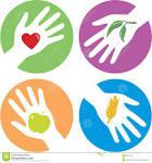 manos amigas relativas a la salud fotos de archivo imagen