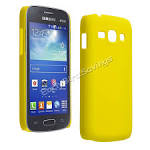 yellow matt ultra thin hard case cover for samsung galaxy ace