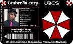 deviantart more like umbrella corporation id card by soujidesigns