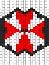 umbrella corp mask bead pattern peyote bead patterns misc bead