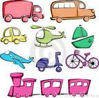 iconos de los vehiculos de camino imagenes de archivo libres de