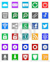 windows icons metro style editorial stock image image